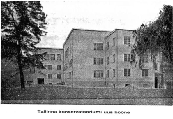 konservatooriumi ehitamine